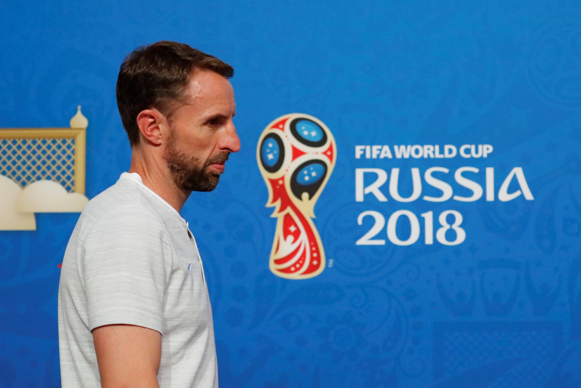 'Emotionally it has been a difficult few days but the players are incredible': Gareth Southgate spoke to the media today. Picture: Action Images
