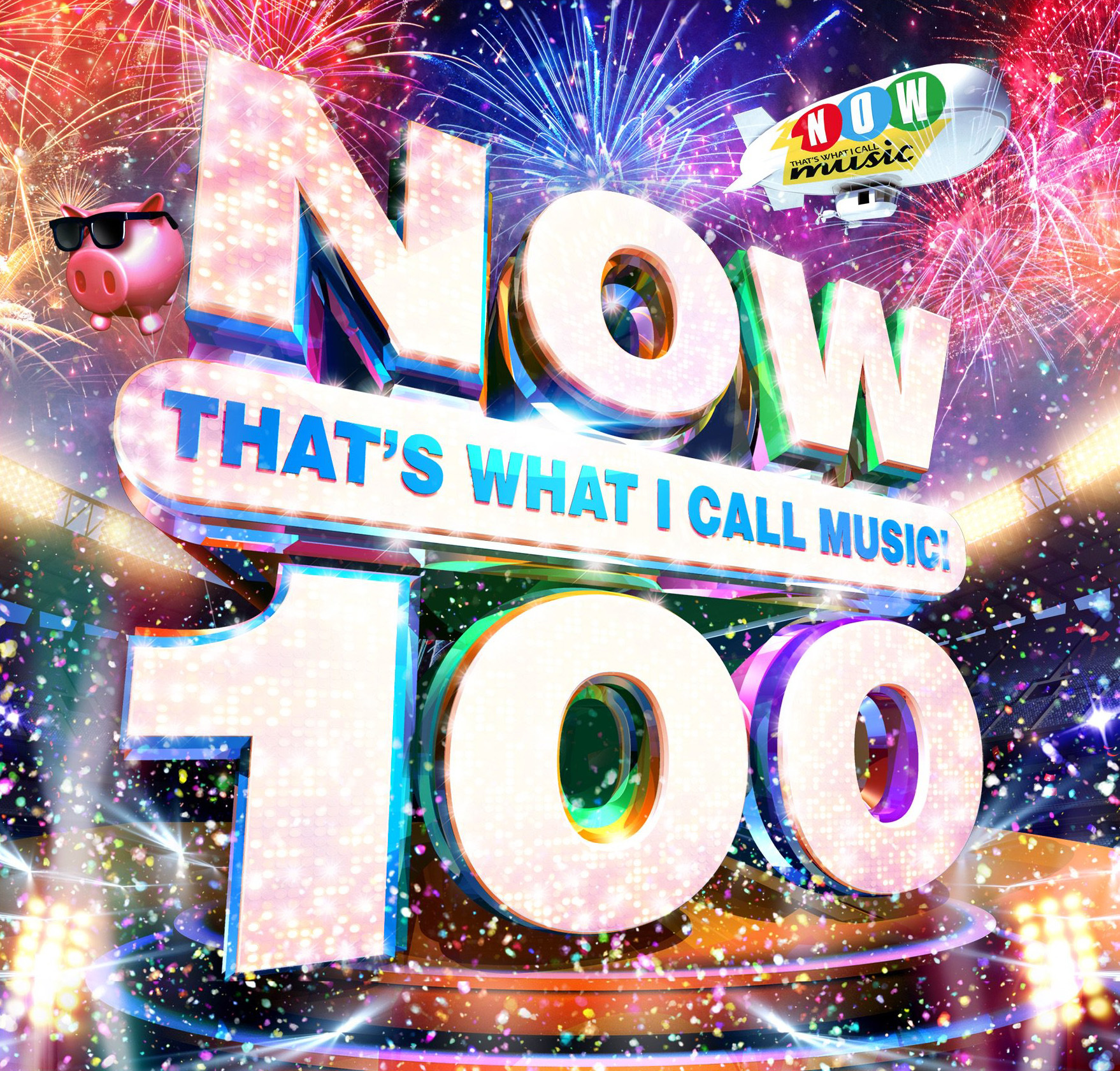 The front cover of NOW 100