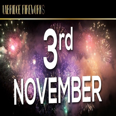 Uxbridge and Hillingdon Fireworks 3rd November 2018 CELEBRATION OF CULTURE