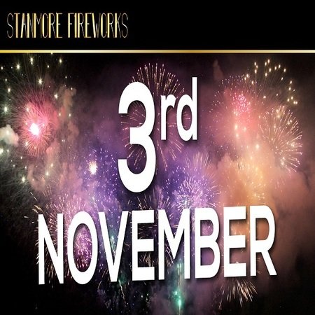 Stanmore and Pinner Fireworks 3rd November 2018 (CELEBRATION OF CULTURE)