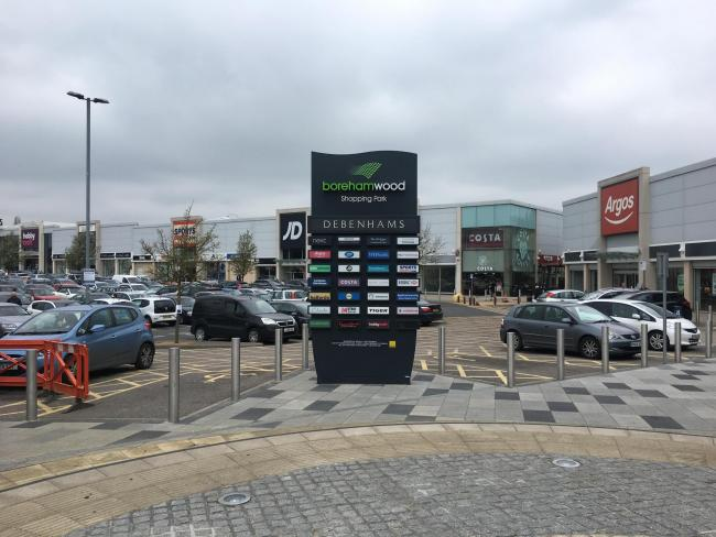 Borehamwood Shopping Park