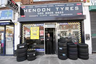 Borehamwood Times: Welcome to Hendon Tyres