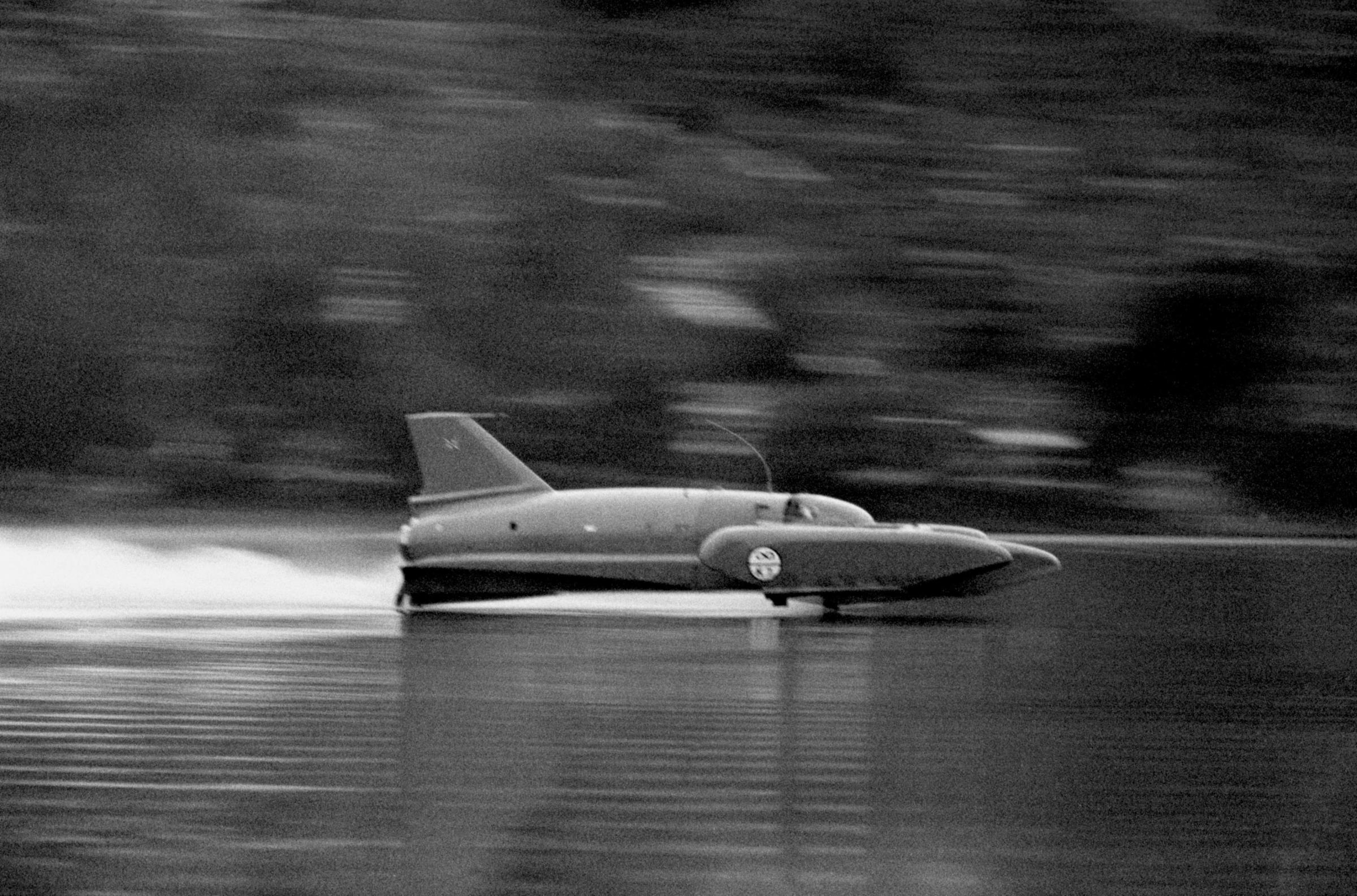 Dates set for record-breaking Bluebird's return to Coniston Water