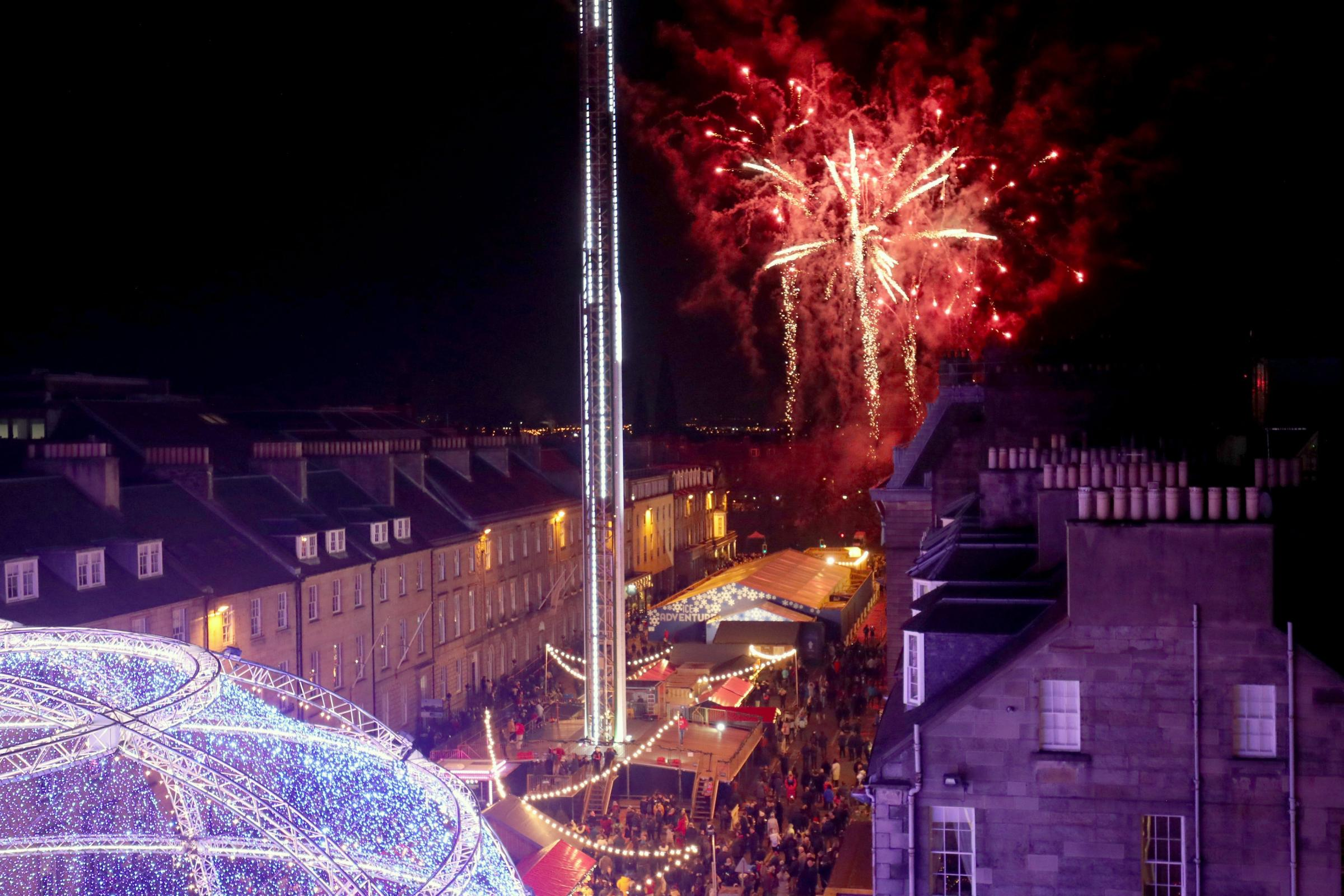 Edinburgh's Christmas welcomes nearly one million visitors, analysis finds
