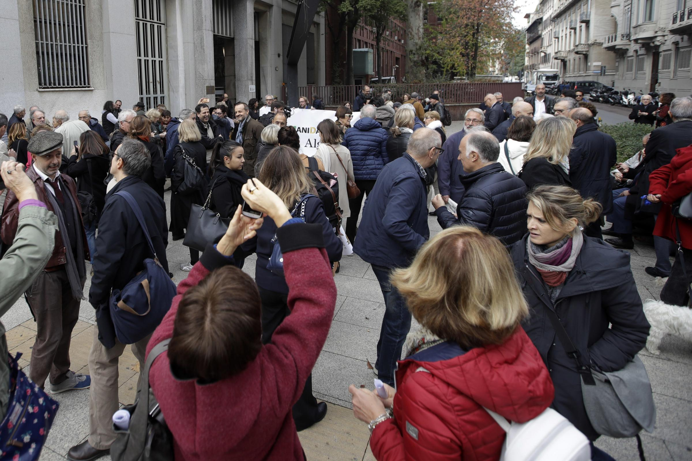 Italian journalists protest against insults from governing party