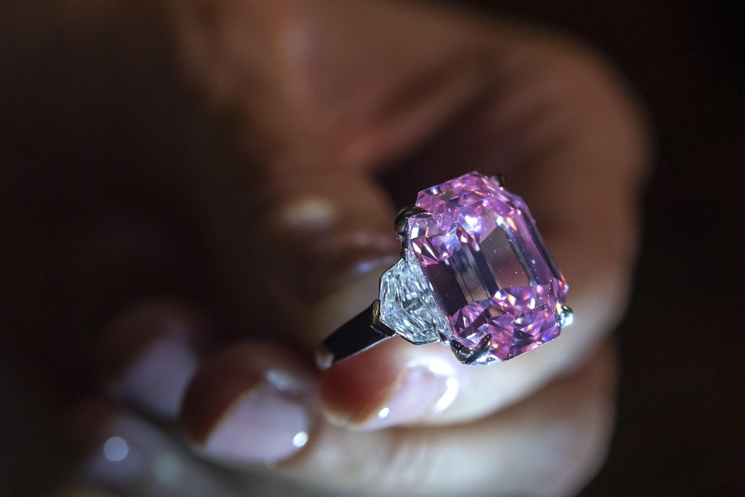 Pink diamond sells for more than 50m dollars