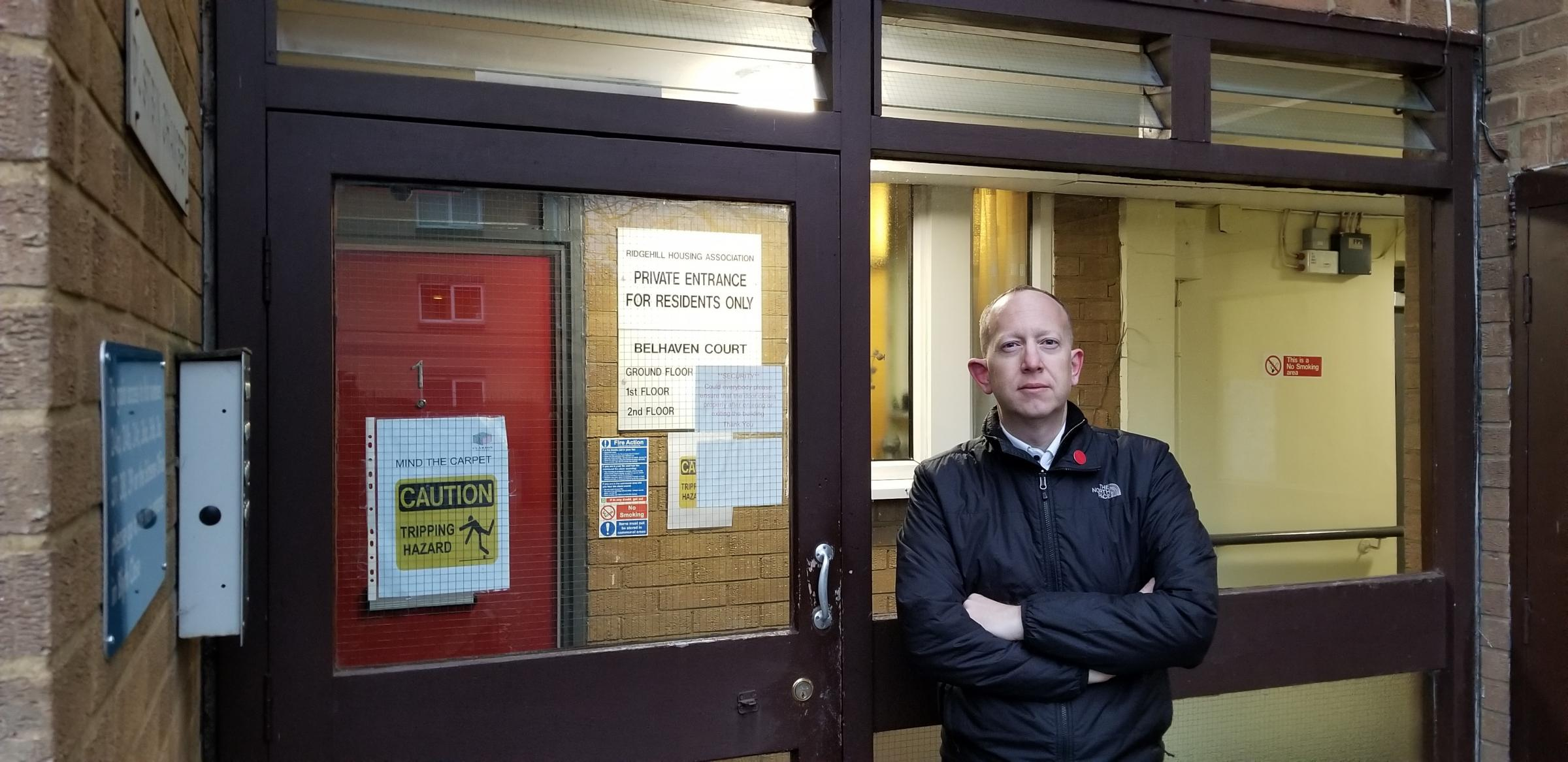 Cllr Jeremy Newmark, pictured, has called on the council to help fill empty properties