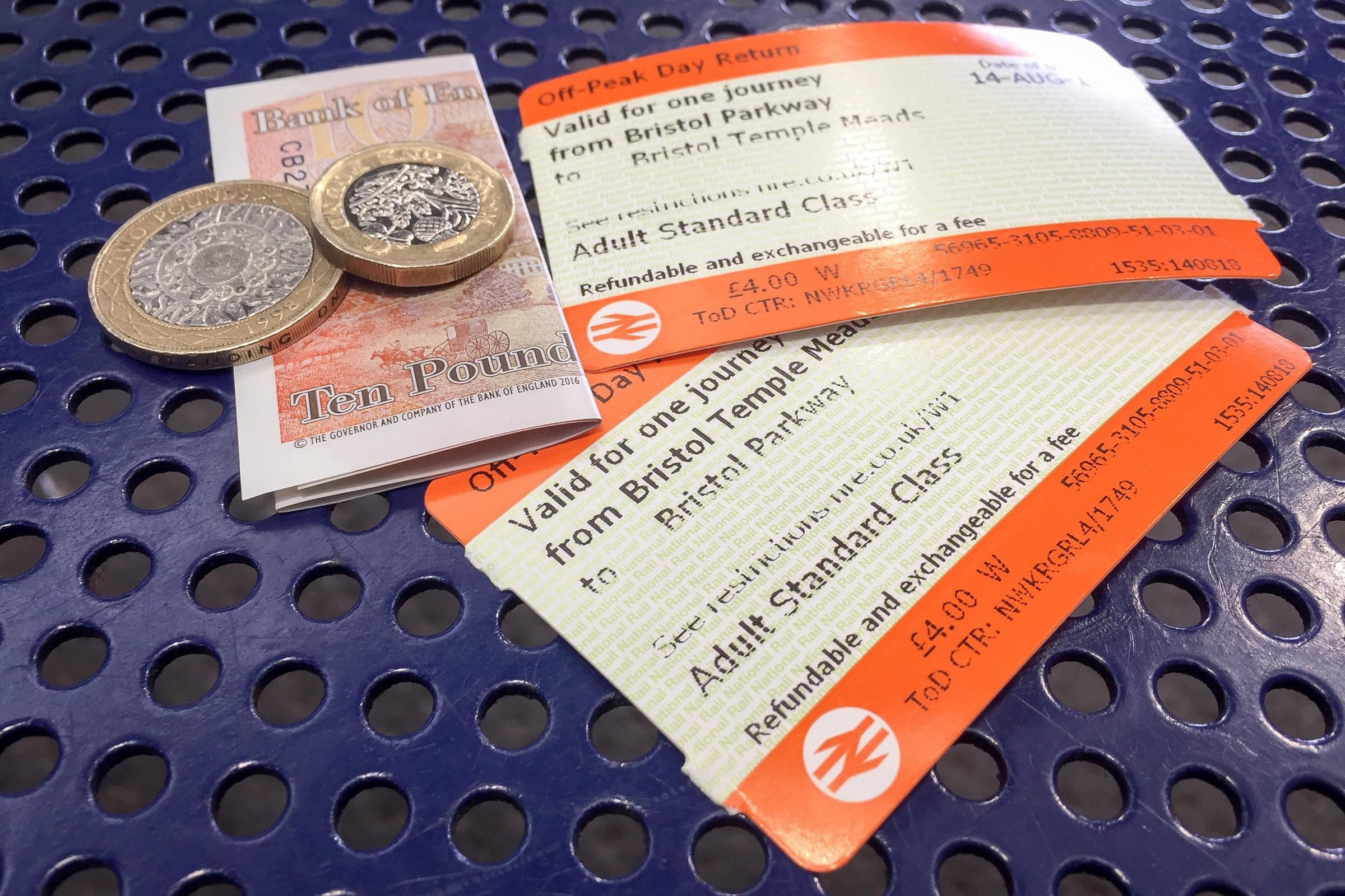 Rail fares will rise by more than three per cent in January. Photo: Ben Birchall/PA Wire