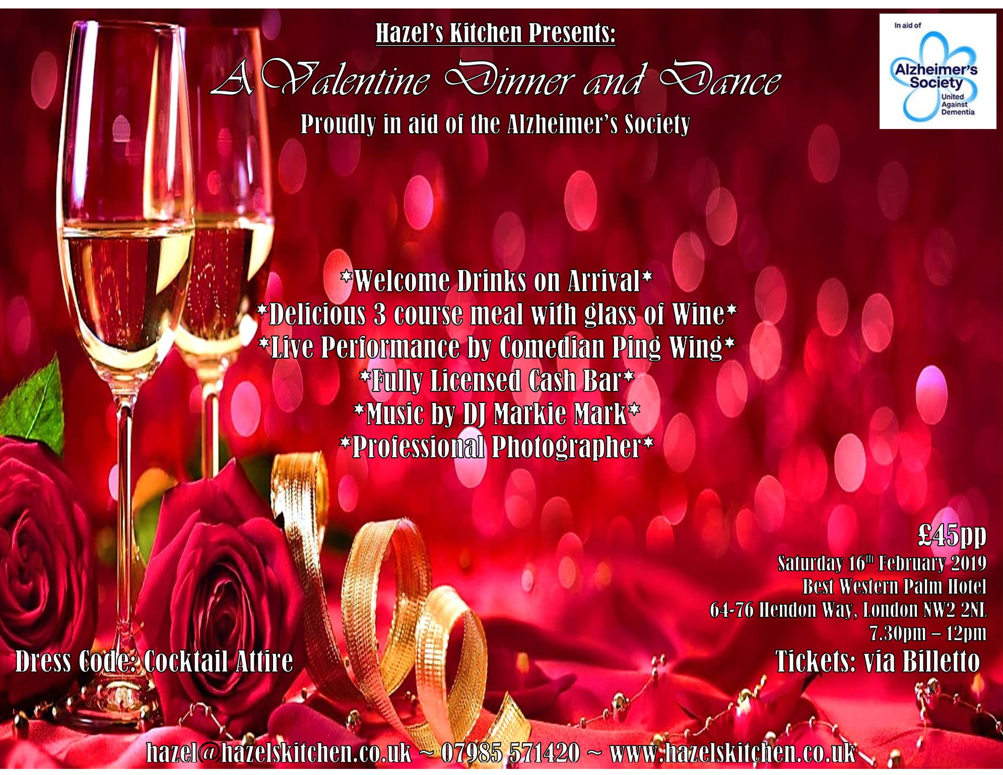 Valentine Dinner and Dance