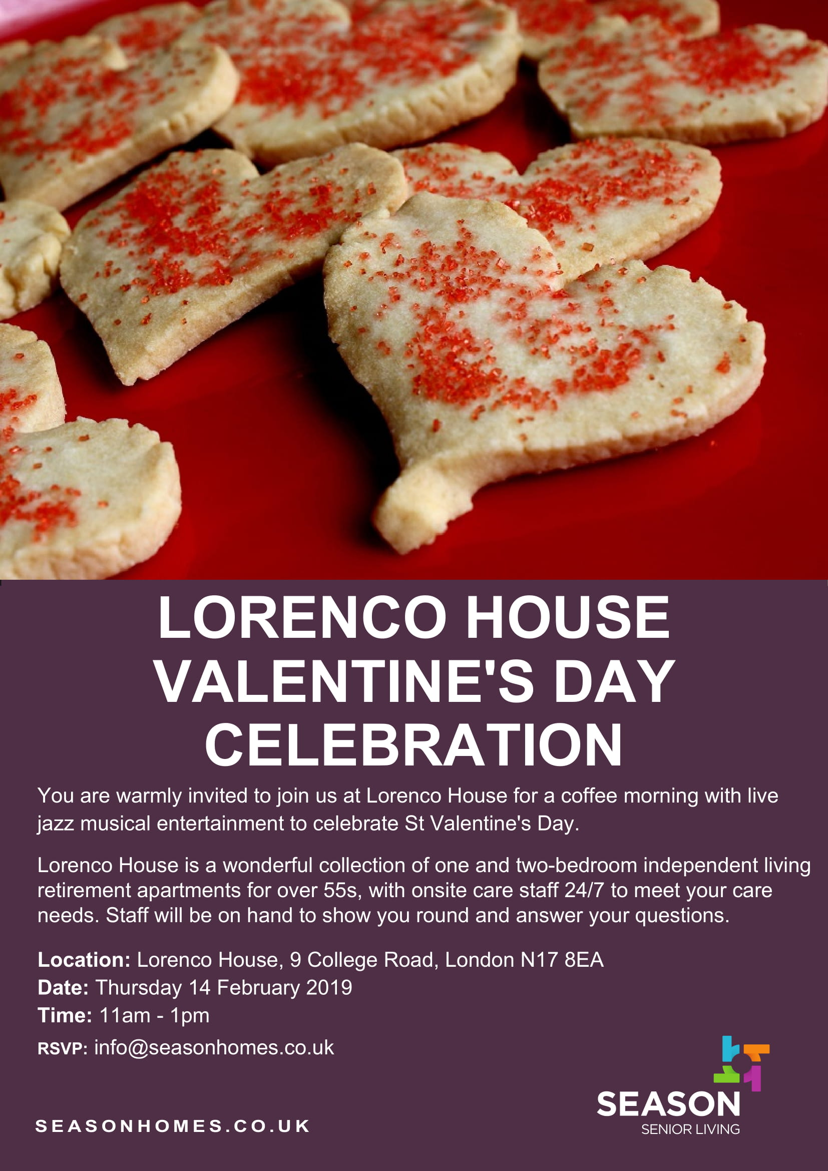 Lorenco House - Valentine's Day celebration