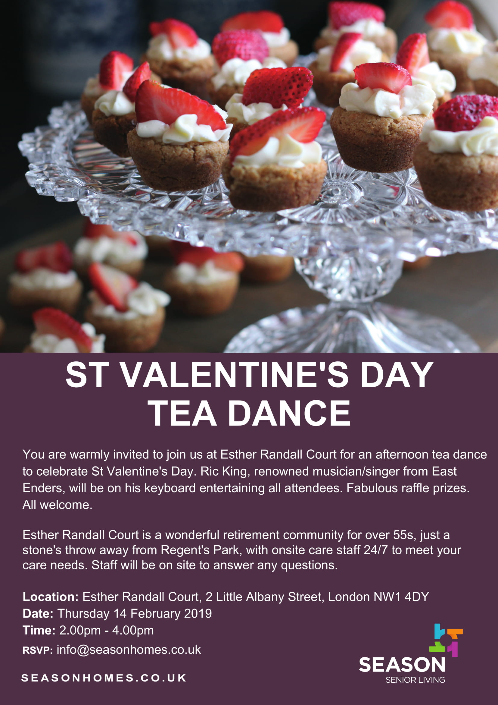St Valentine's Day Tea Dance