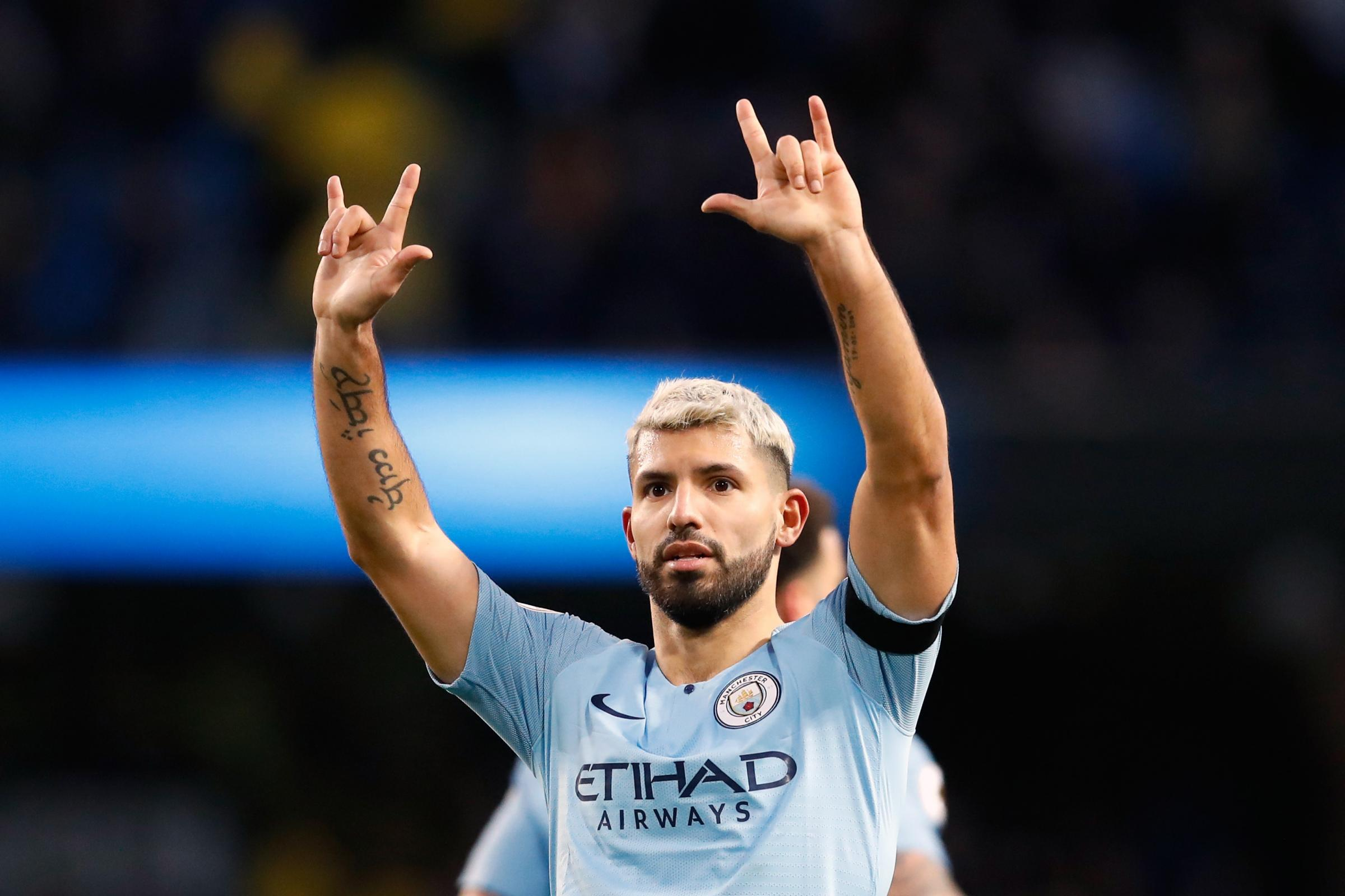 Sergio Aguero's hat-trick helped Manchester City thrash Chelsea