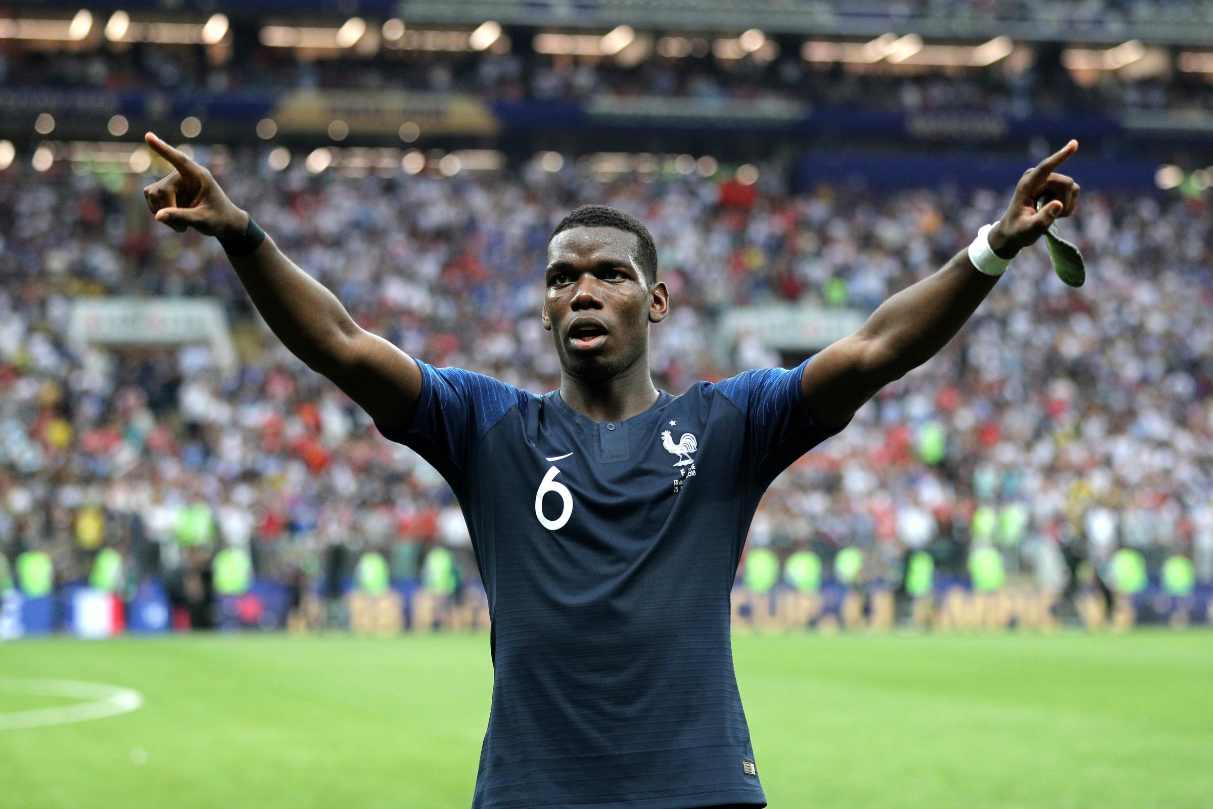 Paul Pogba has told France to put their World Cup heroics behind them