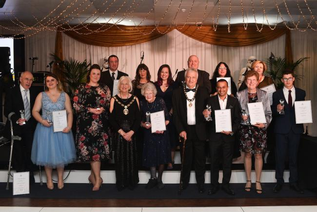 Winners of Hertsmere's Civic Awards. All photo credits to Blake Ezra