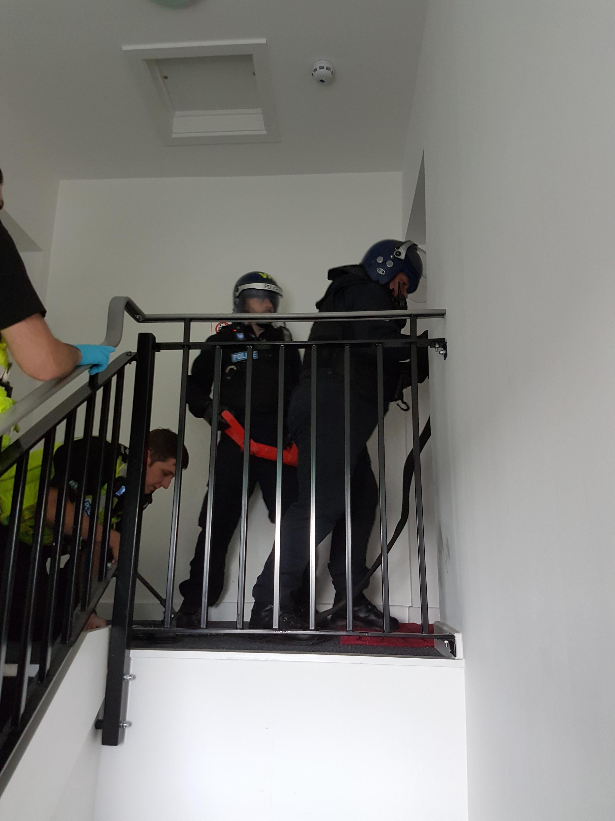 A drugs raid held in Hertfordshire