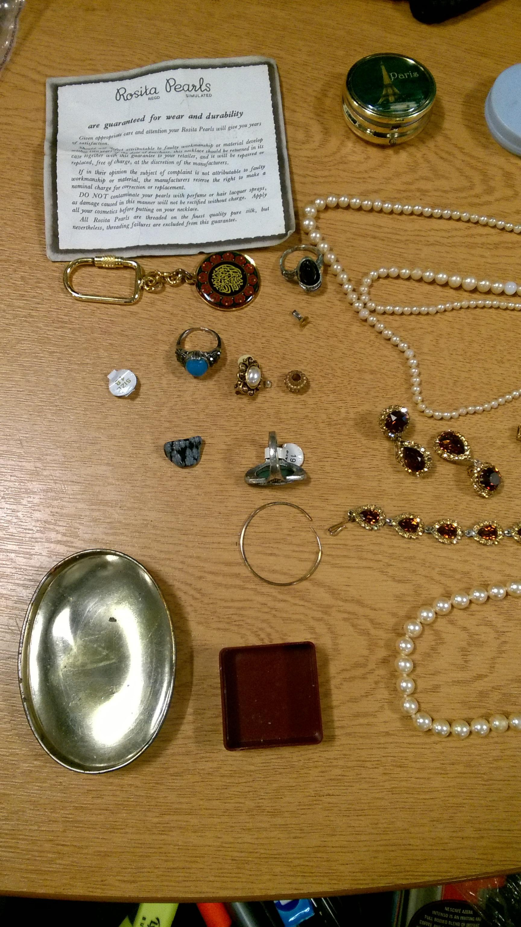 Police have recovered this stolen jewellery
