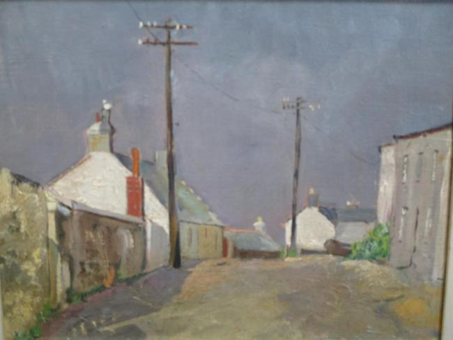 Porth Leven by Bertha Florence James was among Herts County Council collection items successfully sold