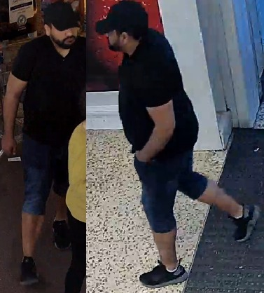 Officers have released CCTV photos of a man who might be able to help with their enquiries
