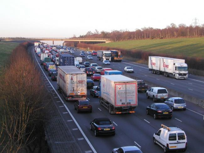 Broken down lorry gridlocks traffic on M25 clockwise