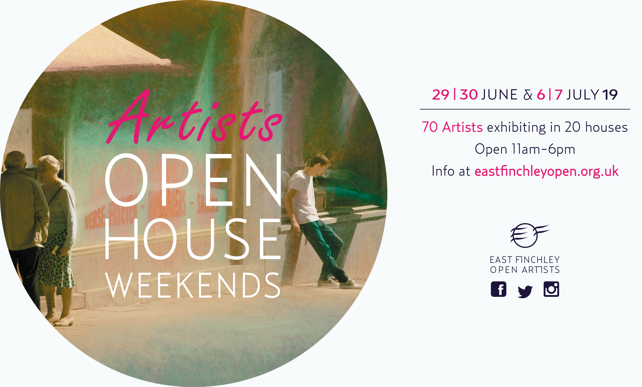 East Finchley Open Artists Open House exhibitions